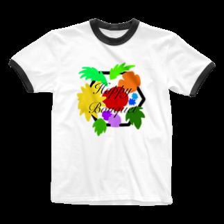 LanbR(ランブル)のブーケ Ringer T-shirts