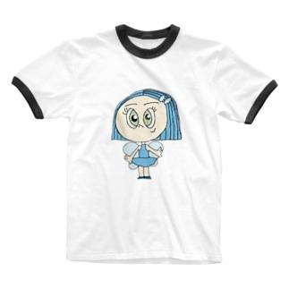 美しさの精💎 Ringer T-shirts