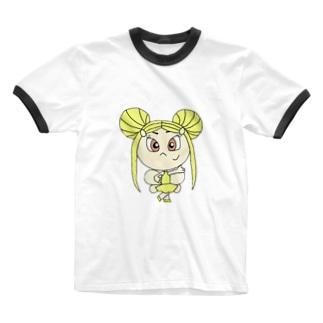カナリアの精🐥 Ringer T-shirts