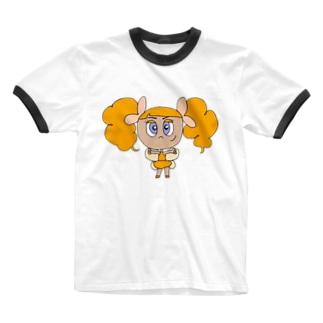 元気の精🍊 Ringer T-shirts