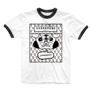 sugarmero_mochi02 Ringer T-shirts