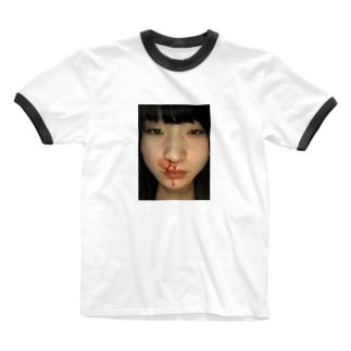 ミキチャン Ringer T-shirts