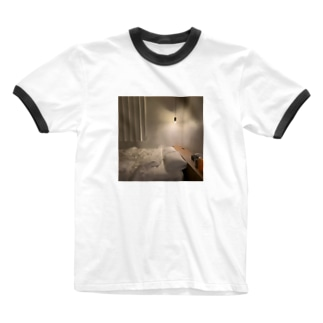 お布団の世界 Ringer T-shirts