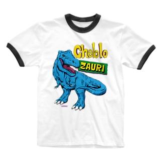ZAURI △Sky Blue▼ Ringer T-shirts