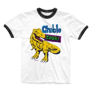 ZAURI △Yellow▼ Ringer T-shirts