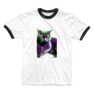 neko no meeko.Colorful Ringer T-shirts