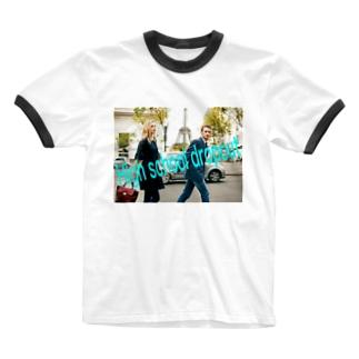 高校中退してもいいんだよシリーズ Ringer T-shirts
