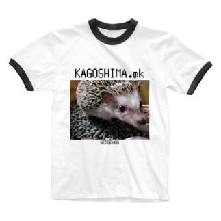ヘッジホッグ Ringer T-shirts