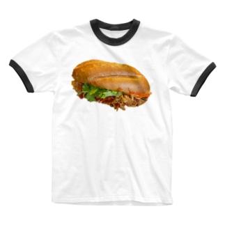 いちばんうまいバインミー Ringer T-shirts