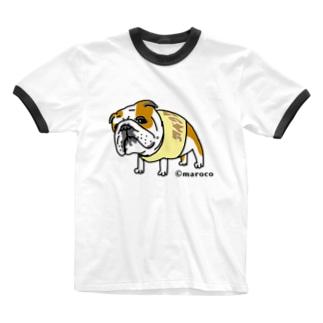 銀次郎 Ringer T-shirts