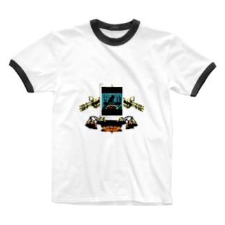ヴァルキリーウエポン「Wise men's Nest」 Ringer T-shirts