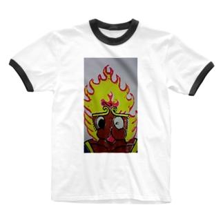 孫悟空 Ringer T-shirts