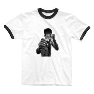 元田敬三★ハバナが熱いぜ★02 Ringer T-shirts