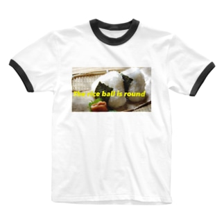 おにぎりシリーズ Ringer T-shirts