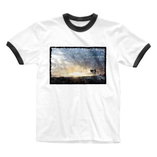 We Are Waiting for Rising Sun(その4) Ringer T-Shirt