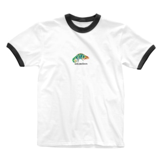 わかめれおん Ringer T-shirts