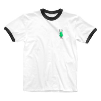 ワンピースの子 Ringer T-shirts
