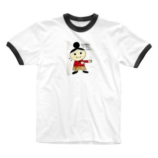 おばあちゃんたいそう Ringer T-shirts