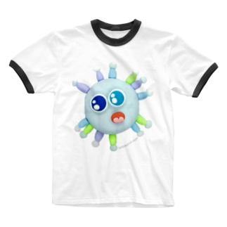 世界中で猛威を振るうアイツ Ringer T-shirts