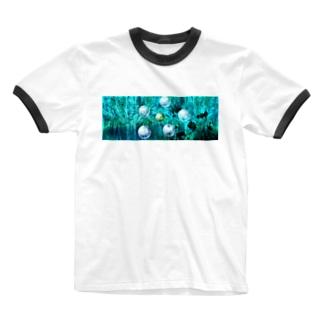 suparnaのガジュマルの森の中で Ringer T-shirts