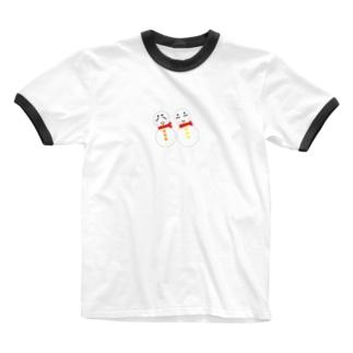 雪だるまくん Ringer T-shirts