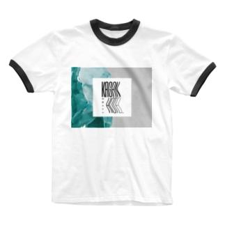 kaganhotel stone design goods Ringer T-shirts