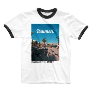 【2020夏限定】ゆき臓コラボT Itsumen. Ringer T-shirts