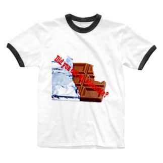 チョコレートシリーズ Ringer T-shirts