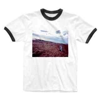 情景 Ringer T-shirts