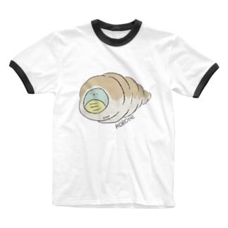 コロネなきょうりゅうさん Ringer T-shirts