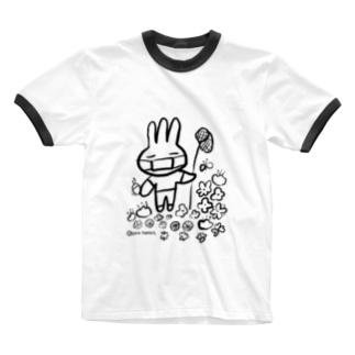 みさぎ夏マスク Ringer T-shirts