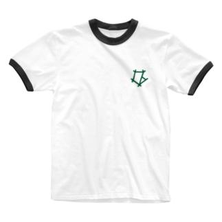 電警 Tシャツ Ringer T-shirts
