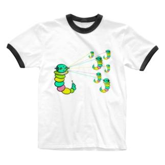 宇宙ビーーーム!! Ringer T-shirts