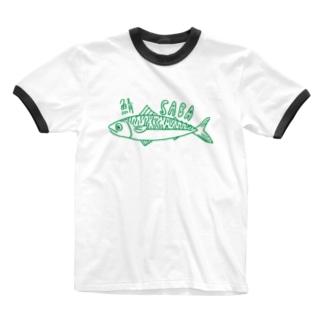 サバ SABA Ringer T-Shirt