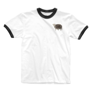ひつじさん Ringer T-shirts