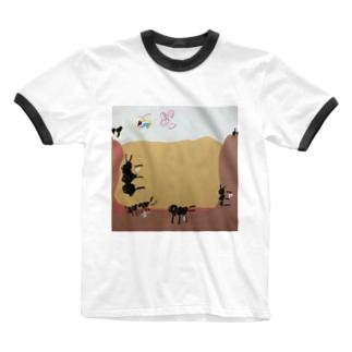 働きアリさん🐜 Ringer T-shirts