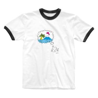 思いついたクリス Ringer T-shirts