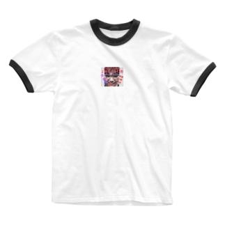 かわのDA2時つか限定アイテム Ringer T-shirts