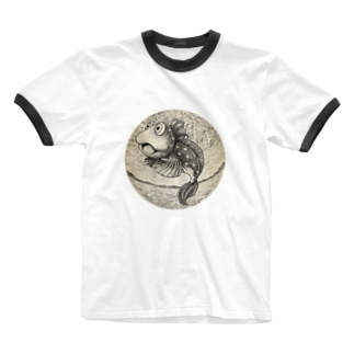 恋のミラクルジャンプ Ringer T-shirts