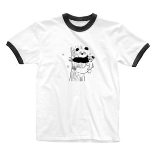 ゴアラ Ringer T-shirts