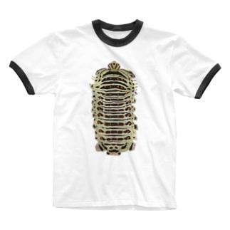 キアゲハ Ringer T-shirts