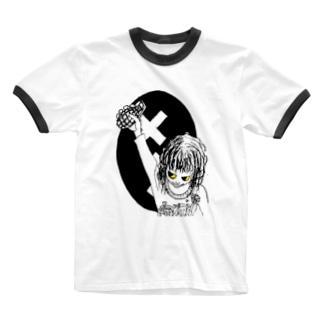 パイナップルアーミー Ringer T-shirts