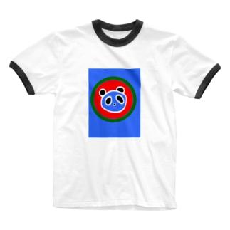 サマーパンダ🍉 Ringer T-shirts