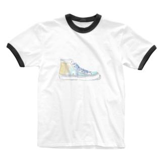 スニーカーT bluever Ringer T-shirts