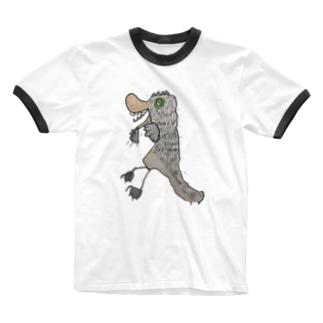 トロちゃん Ringer T-shirts