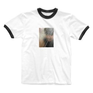 ゴミ袋の中 Ringer T-shirts