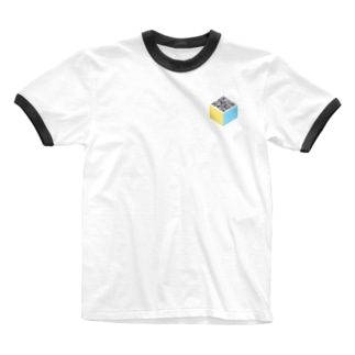 VRT#1 - QR ver. Ringer T-shirts