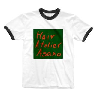 HairAtelierAsanoのHair Atelier Asano Ringer T-shirts