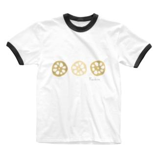 れんこん〜Renkon〜 Ringer T-shirts