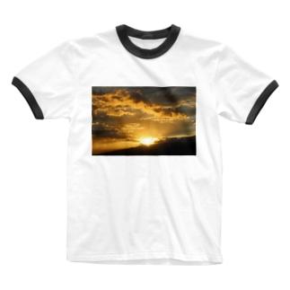 aoaotaのsunset Ringer T-shirts